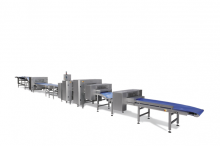 Промышленные линии формования хлебобулочных изделий широкого ассортимента: хлеб, мелкоштучка, багет, чабатта и проч.