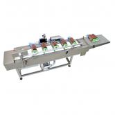 Клипсующий конвейер HTA-15 с возможностью работы с пакетозагручиком 1800 шт/ч